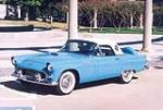1956 FORD THUNDERBIRD CONVERTIBLE - Front 3/4 - 180651