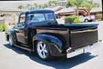 1956 FORD F-100 CUSTOM PICKUP - Rear 3/4 - 180664