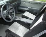 1987 BUICK GRAND NATIONAL  - Interior - 180867