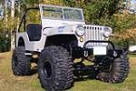 1948 WILLYS CJ2A CUSTOM JEEP - Front 3/4 - 180907