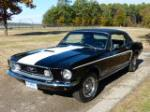 1968 FORD MUSTANG COBRA JET COUPE - Front 3/4 - 180962