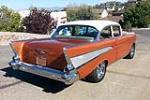 1957 CHEVROLET BEL AIR 2 DOOR POST - Rear 3/4 - 181004