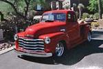 1950 CHEVROLET 3100 CUSTOM PICKUP - Front 3/4 - 181041