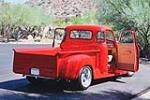1950 CHEVROLET 3100 CUSTOM PICKUP - Rear 3/4 - 181041