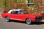 1965 FORD MUSTANG GT CONVERTIBLE - Front 3/4 - 181158