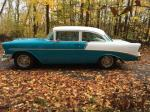 1956 CHEVROLET 210 CUSTOM - Side Profile - 181238