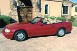 1996 MERCEDES-BENZ SL320 CONVERTIBLE - Front 3/4 - 181244