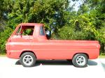 1965 DODGE A100 CUSTOM PICKUP - Side Profile - 181256