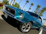 1968 FORD MUSTANG CUSTOM COUPE - Front 3/4 - 181389