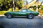 1972 CHEVROLET CORVETTE - Side Profile - 181399