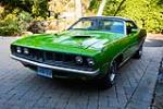 1971 PLYMOUTH BARRACUDA CONVERTIBLE - Front 3/4 - 181402
