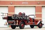 1930 AHRENS FOX MODEL V FIRE TRUCK - Rear 3/4 - 181591