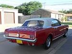 1966 FORD MUSTANG CONVERTIBLE - Rear 3/4 - 181614