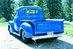 1952 CHEVROLET CUSTOM PICKUP - Rear 3/4 - 182554
