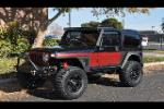 1999 JEEP WRANGLER  - Front 3/4 - 182767
