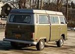 1972 VOLKSWAGEN WESTFALIA POP-UP CAMPER - Rear 3/4 - 183899