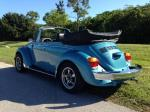 1979 VOLKSWAGEN SUPER BEETLE CONVERTIBLE - Rear 3/4 - 183915
