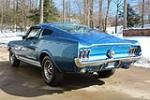 1967 FORD MUSTANG FASTBACK - Rear 3/4 - 183947