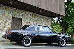 1987 BUICK GRAND NATIONAL GNX - Side Profile - 184006