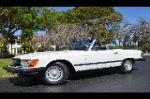 1985 MERCEDES-BENZ 380SL ROADSTER - Front 3/4 - 184052