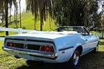 1973 FORD MUSTANG CONVERTIBLE - Rear 3/4 - 184056