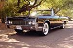 1967 LINCOLN CONTINENTAL CONVERTIBLE - Front 3/4 - 184155