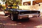 1967 LINCOLN CONTINENTAL CONVERTIBLE - Rear 3/4 - 184155