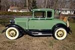 1931 FORD 5 WINDOW COUPE - Side Profile - 184341