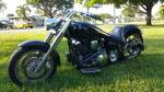 2001 YAMAHA CUSTOM MOTORCYCLE - Front 3/4 - 184629