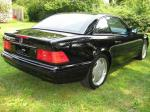 1997 MERCEDES-BENZ SL500 ROADSTER - Rear 3/4 - 184969