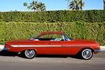 1961 CHEVROLET IMPALA SS 409 BUBBLE TOP - Side Profile - 185502