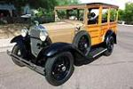 1930 FORD MODEL A WOODY WAGON - Front 3/4 - 185787