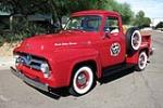 1955 FORD F-100 PICKUP - Front 3/4 - 185872