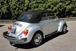 1979 VOLKSWAGEN BEETLE CONVERTIBLE - Rear 3/4 - 185923