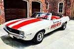 1969 CHEVROLET CAMARO RS/SS INDY PACE CAR CONVERTIBLE - Front 3/4 - 186837