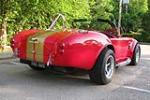 1965 SHELBY COBRA RE-CREATION ROADSTER - Rear 3/4 - 186840