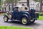 1931 FORD MODEL A SPORT COUPE - Rear 3/4 - 186846