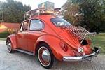 1965 VOLKSWAGEN BEETLE TYPE 1 - Rear 3/4 - 186849