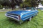 1964 FORD GALAXIE 500 CONVERTIBLE - Rear 3/4 - 187080