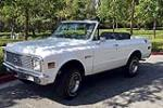 1971 CHEVROLET BLAZER 4X4 - Rear 3/4 - 187120