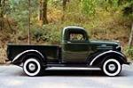 1937 CHEVROLET PICKUP - Side Profile - 187243