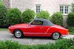 1971 VOLKSWAGEN KARMANN GHIA CONVERTIBLE - Side Profile - 187290