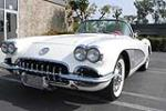 1960 CHEVROLET CORVETTE 283/230 CONVERTIBLE - Front 3/4 - 187339