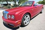 2007 BENTLEY AZURE CONVERTIBLE - Front 3/4 - 187399
