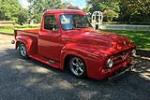 1955 FORD F-100 CUSTOM PICKUP - Front 3/4 - 187441