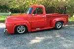 1955 FORD F-100 CUSTOM PICKUP - Side Profile - 187441
