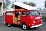 1970 VOLKSWAGEN WESTFALIA POP-TOP CAMPER - Front 3/4 - 187497