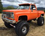 1979 CHEVROLET 1500 4X4 PICKUP - Front 3/4 - 187578