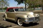 1942 CHRYSLER NEW YORKER CONVERTIBLE - Front 3/4 - 188095