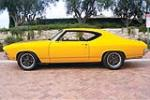 1969 CHEVROLET CHEVELLE MALIBU CUSTOM COUPE - Side Profile - 188138
